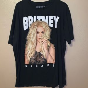 Britney Spears Band Tee Shirt
